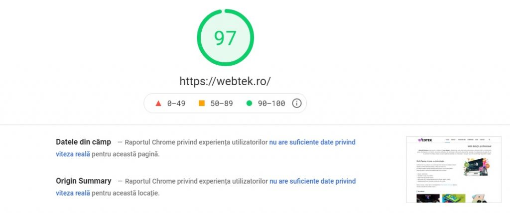 optimizare web wp rocket